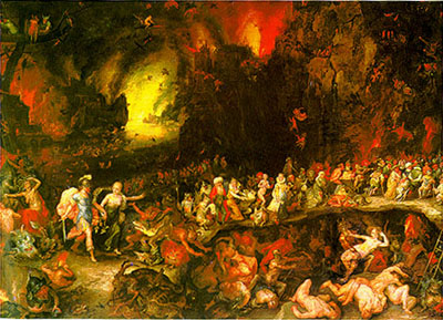 Aeneas And Dido In The Underworld