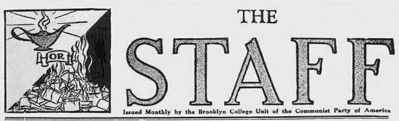 Daily Worker masthead