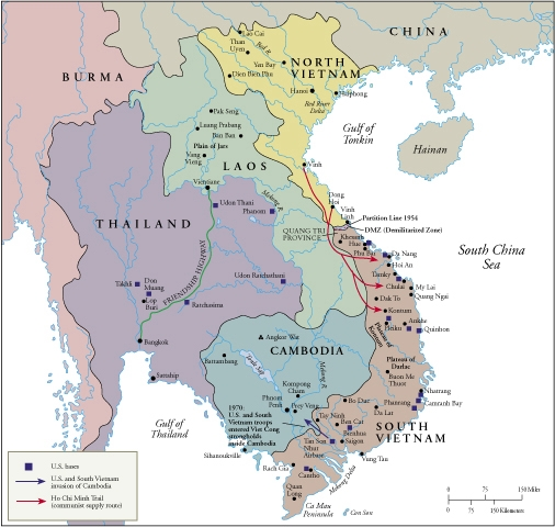 Southeast Asia During The Us Escalation